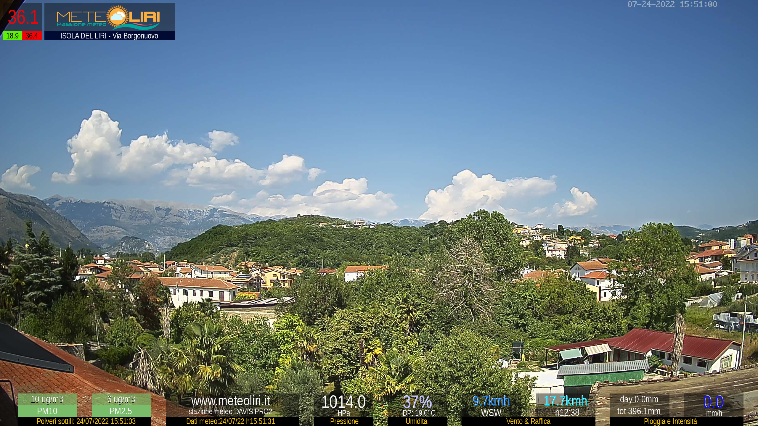 Webcam Isola del Liri